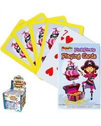 Image of 48 x Pink Pirate Playing Cards