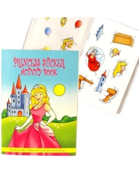 Image of 24 x Princess Sticker Activity Books