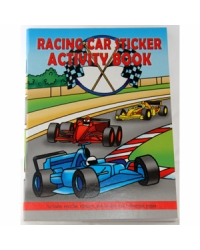 Image of 24 x Racing Car Sticker Activity Books