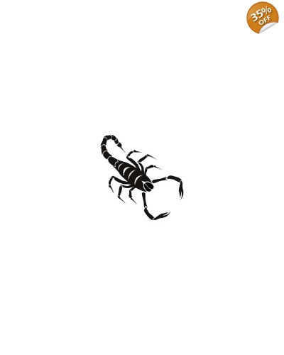 100 x Scorpion Tattoos