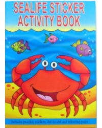 Image of 24 x Sealife Sticker Activity Books