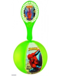12 x Spider Man Inflatable Tap Balls