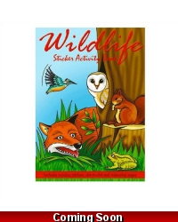 Image of 24 x Woodland Wildlife Sticker Activity Books
