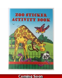 Image of 24 x Jungle Animal Sticker Activity Books