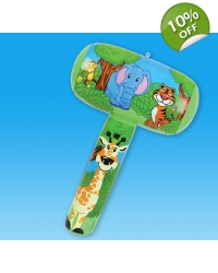 Image of 12 x Inflatable Jungle Animal Mallets