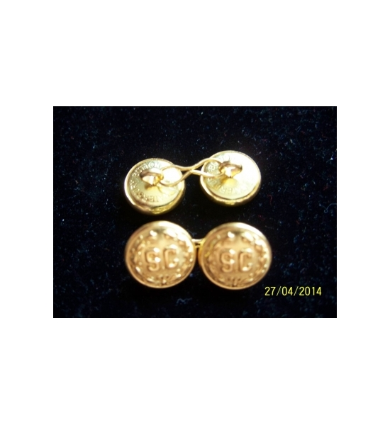 "2 SIDED 5/8"" ""SC"" CUFF LINKS SETS"