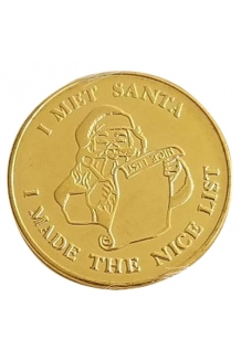 SOLID BRASS COIN