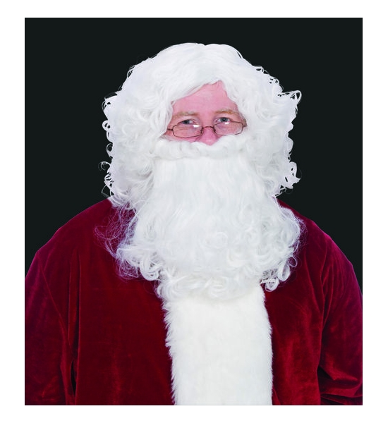 SANTA BEARD AND WIG SET $7.95 - $19.95