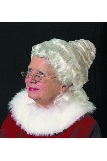 Beautiful Mrs Claus Wig