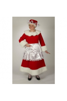 Regal Red Velvet Mrs Claus 7551