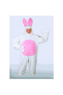 White Bunny Suit With Hood 1092