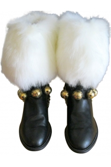 Plush Boot Cuffs pair
