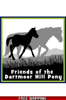 Friends of The Dartmoor Hill Pony Car Sticker