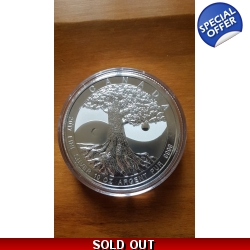 10oz .999 Silver Tree of Life