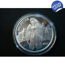 12oz .999 Silver Proof Steampunk Angel and Demon Set