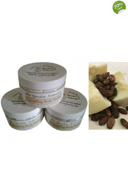 8oz. CocoaNog Body & Hair Butter