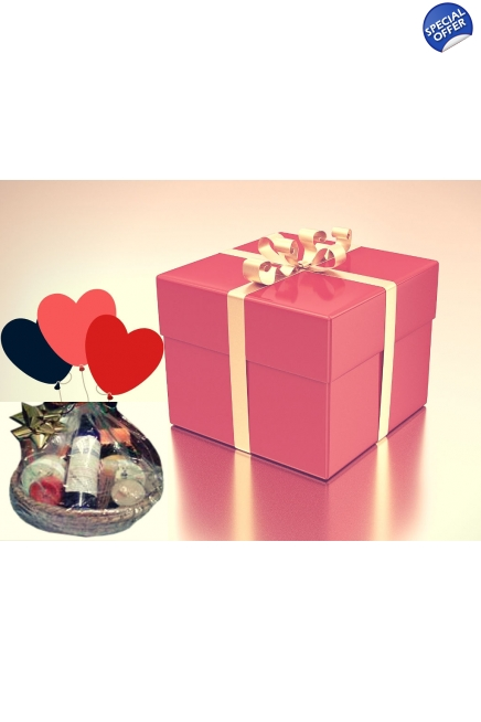 Valentine's Day Gift Box or Basket