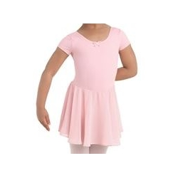 Short-Sleeve Class Dress