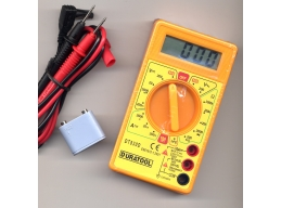 New Digital Multimeter 3 ½ Digit LCD Display