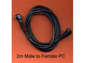2 m  PC Sync extension lead Male/Female