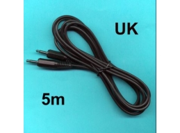 5m 3.5mm MONO Miniphone Jack to Jack Cord