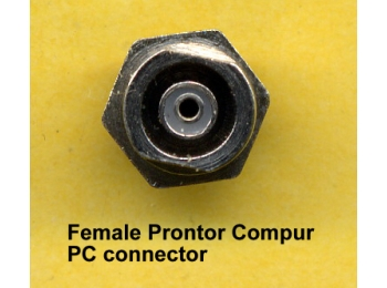 PC Prontor Compur Sync Chassis Connector Male or Female