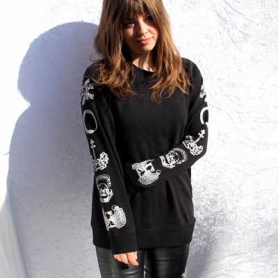 Women's Printed Sweatsh..