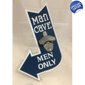 Man Cave Bottle Openers