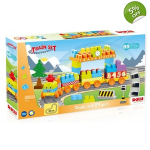 Dolu 89 Piece Train Set..