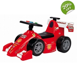 Feber Ferrari F1 Foot to Floor Ride on Car with ..