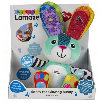 Lamaze Sonny The Glowing Musical Bunny - 9+ Months