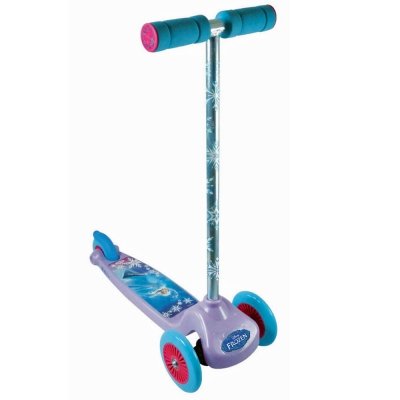 DISNEY Frozen Tri-Scooter with Flexible Handlebar Steering - 3+ Years