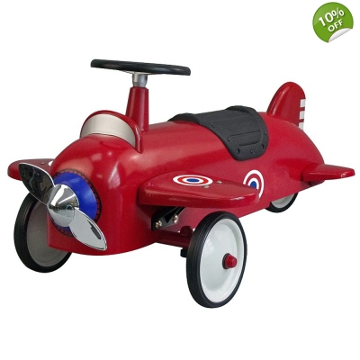 Great Gizmos Ride on Aeroplane Red – 12+ Months