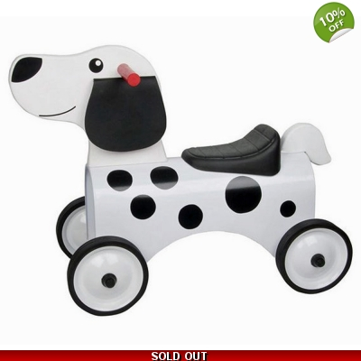 Great Gizmos Ride On Dalmatian Dog – 12+ Months