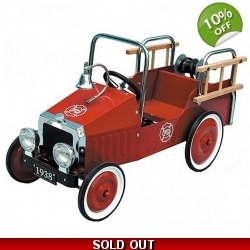 Great Gizmos Fire Engine Classic Kids Pedal Car ..