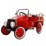 Great Gizmos Fire Engine Classic Kids Pedal Car – 3+ Years