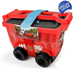 DISNEY Cars 3 My Creative Trolley & Accessories ..