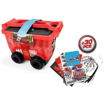 DISNEY Cars 3 My Creative Trolley & Accessories Set - 3+ Years