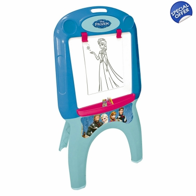 DISNEY Frozen My First Foldable Easel Colouring Set Blue - 3+ Years