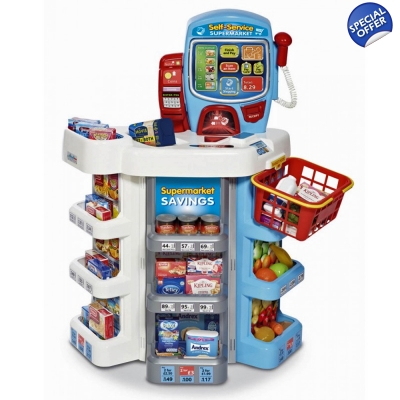 Casdon Roll Play Self-service Supermarket - 3+ Years