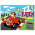 KidZZfarm Jumping Car Hopper - 12+ Months
