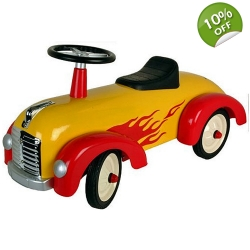 Great Gizmos Sit n Ride Speedster Car - 12+ Months