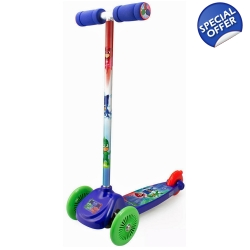 PJMASKS Kid's Three Wheel Flex Scooter - 3+ Years