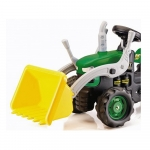 Dolu Kids Green Pedal Ride on Tractor With Front Loader – 3+ Years