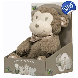 Bojungle Tambo The Monkey B-Plush Toy - 0+ Months