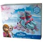 DISNEY Frozen Inline Adjustable Roller Skates 30 - 33 - 6+ Years