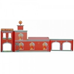 Plum Ingham Fire Station Wooden Play Set with Accessories - 3+ Years