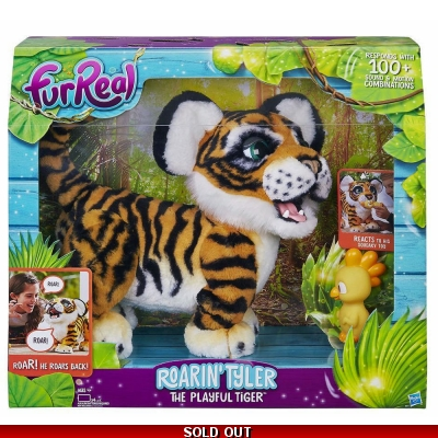 FurReal Friends - FurReal Roarin Tyler The Playful Tiger - 4+ Years