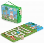 Hauck Kids Hippo Green Sleeper Mattress and Playmat - 0+ Months