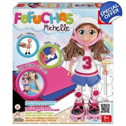 EDUCA Fofuchas Michelle Build Your Own Foam Doll..
